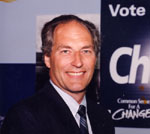 Ted Chudleigh, MPP for Halton. Progressive Conservative Party.  1995-