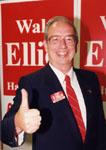 Walt Elliot. Liberal.  MPP, Halton North, 1987-1990