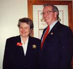 Walt Elliot and Lyn Mcleod.