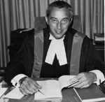 His Honour Judge A. James Fuller of the Ontario Provincial Court