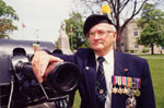 Andy Graham.  Veteran.  WWII
