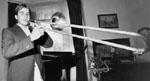 Glen Hunter, trombone player