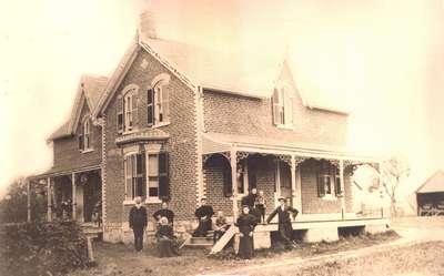 The Coulson farmhouse, Twiss Road