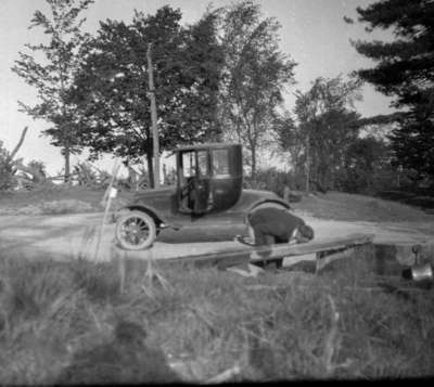 One of the Coulson family cars