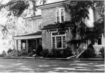 Coulson house on the Guelph Line