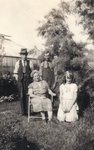 Grampa Charles, Mr. and Mrs. Batty, Ruth Elliott
