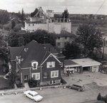 Aerial view of Dr. Stevenson's hospital