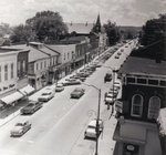 Main Street, Milton, looking west from the intersection with Martin Street