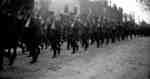 164th Battalion parading down Main Street, Milton