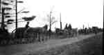 164th Battalion wagons march