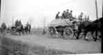 164th Battalion with supplies