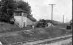 The Milton railway crossing