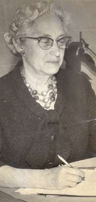 Ms. Maxted, 1903-1986