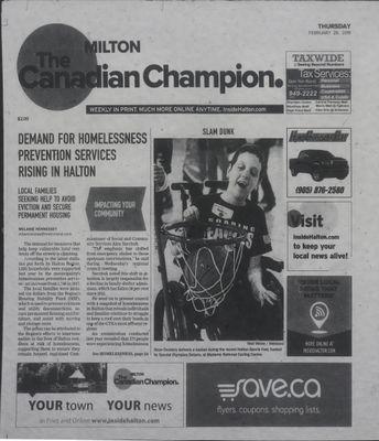 Canadian Champion (Milton, ON), 28 Feb 2019