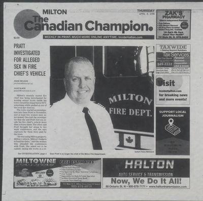 Canadian Champion (Milton, ON), 4 Apr 2019