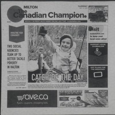 Canadian Champion (Milton, ON), 2 May 2019