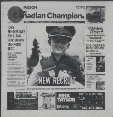 Canadian Champion (Milton, ON), 16 May 2019