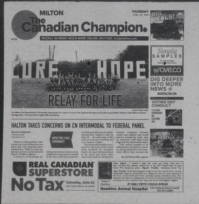Canadian Champion (Milton, ON), 20 Jun 2019