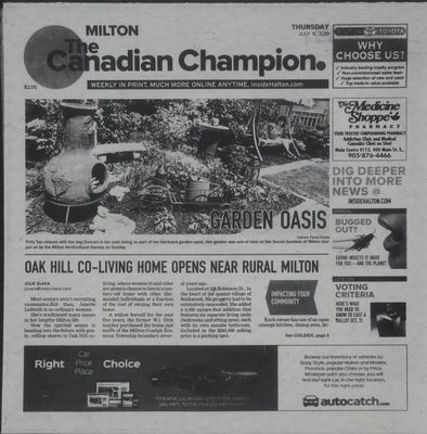 Canadian Champion (Milton, ON), 11 Jul 2019