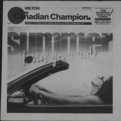 Canadian Champion (Milton, ON), 25 Jul 2019