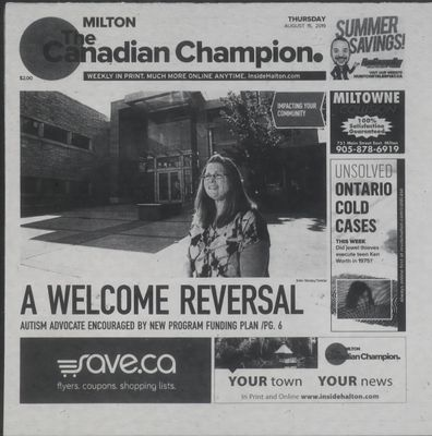 Canadian Champion (Milton, ON), 15 Aug 2019