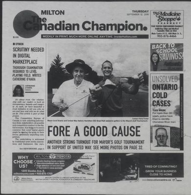 Canadian Champion (Milton, ON), 12 Sep 2019