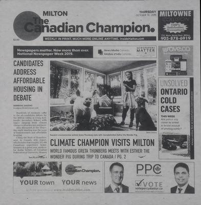 Canadian Champion (Milton, ON), 10 Oct 2019