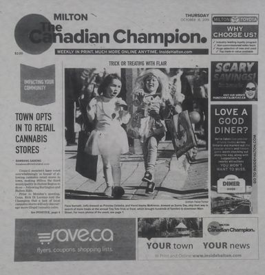 Canadian Champion (Milton, ON), 31 Oct 2019