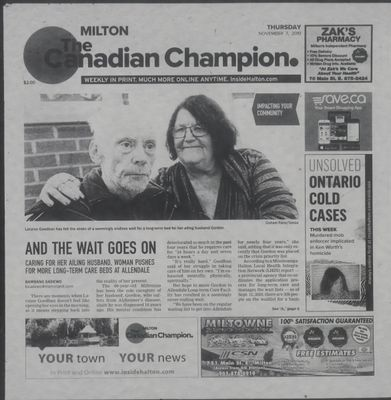 Canadian Champion (Milton, ON), 7 Nov 2019