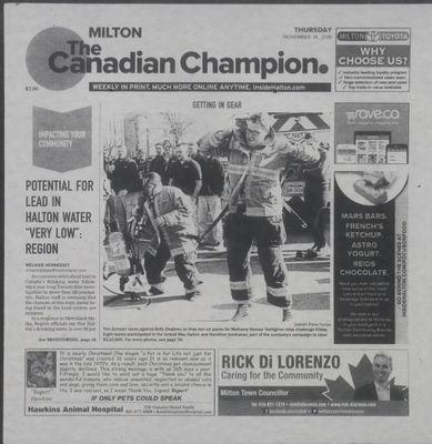 Canadian Champion (Milton, ON), 14 Nov 2019