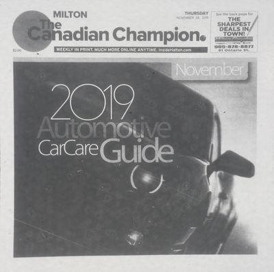 Canadian Champion (Milton, ON), 28 Nov 2019