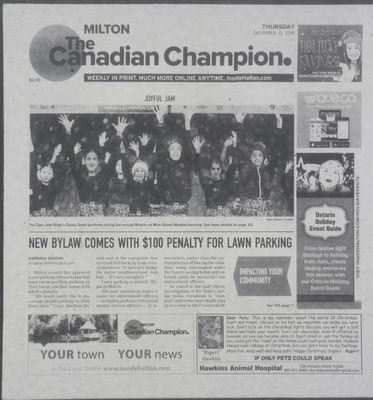 Canadian Champion (Milton, ON), 12 Dec 2019
