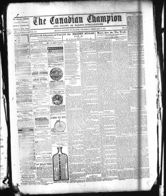 Canadian Champion (Milton, ON), 17 Feb 1881
