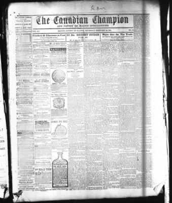 Canadian Champion (Milton, ON), 24 Feb 1881