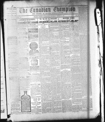 Canadian Champion (Milton, ON), 24 Mar 1881