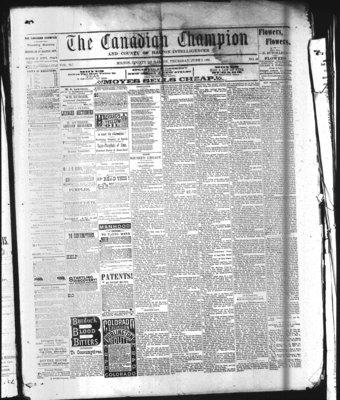 Canadian Champion (Milton, ON), 2 Jun 1881