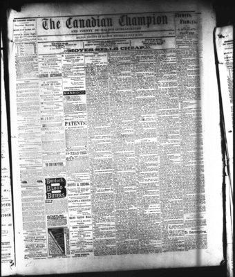 Canadian Champion (Milton, ON), 28 Jul 1881