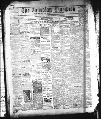 Canadian Champion (Milton, ON), 6 Oct 1881