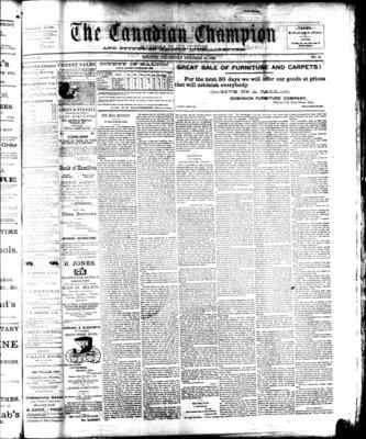 Canadian Champion (Milton, ON), 24 Oct 1889