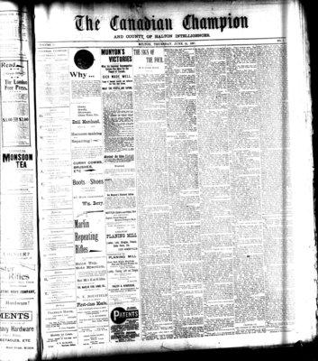 Canadian Champion (Milton, ON), 24 Jun 1897