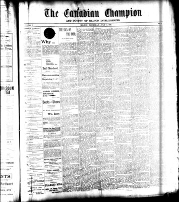 Canadian Champion (Milton, ON), 1 Jul 1897