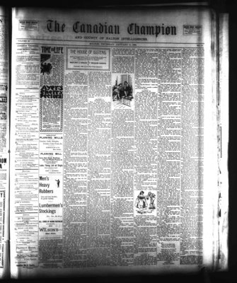Canadian Champion (Milton, ON), 11 Jan 1900