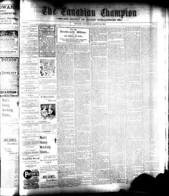 Canadian Champion (Milton, ON), 29 Aug 1901