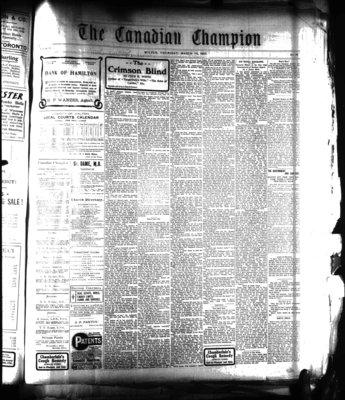 Canadian Champion (Milton, ON), 14 Mar 1907