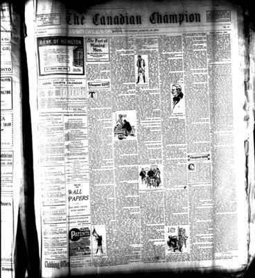 Canadian Champion (Milton, ON), 18 Aug 1910