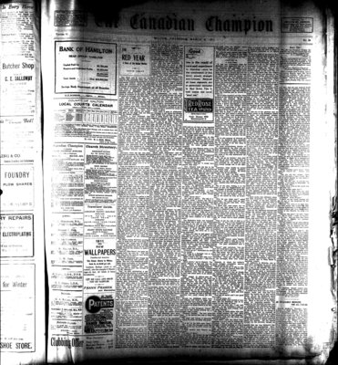 Canadian Champion (Milton, ON), 9 Mar 1911