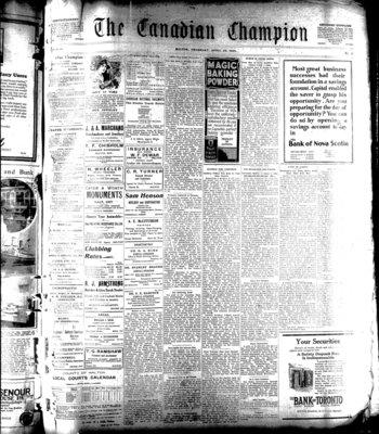 Canadian Champion (Milton, ON), 24 Apr 1924
