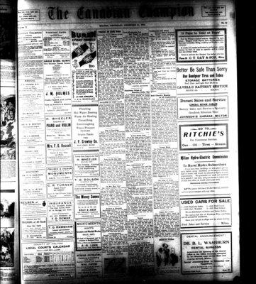 Canadian Champion (Milton, ON), 31 Dec 1931