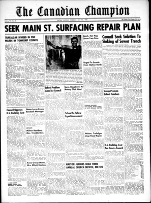 Canadian Champion (Milton, ON), 8 May 1952