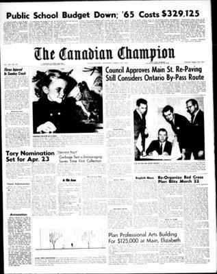 Canadian Champion (Milton, ON), 10 Mar 1965